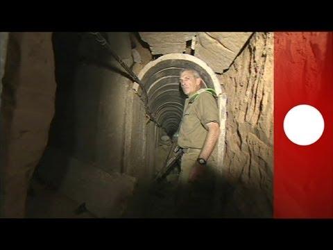 Descubren un túnel subterráneo entre la franja de Gaza e Israel