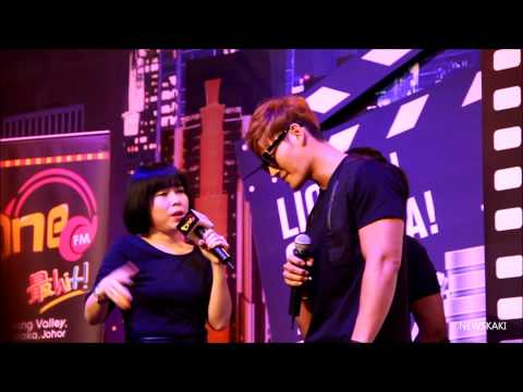 Kim Jong Kook's Interview + Moments - Encorp Strand Mall's Grand Opening in Malaysia