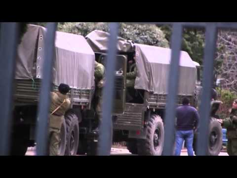 Video Shows Russian Troops Already in Ukraine?
