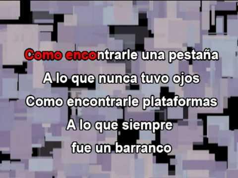 El problema - Ricardo Arjona Karaoke -zKC_wzhdnio