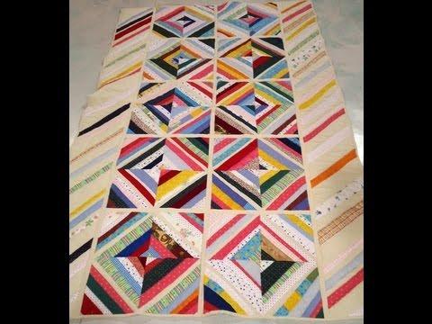 Como hacer un acolchado con patchwork youtube - Como hacer pachwork ...