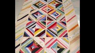 Como hacer una colcha con patchwork