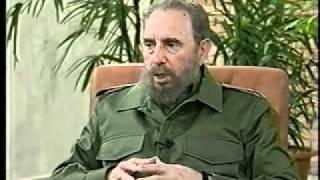 Mauricio Funes Entrevistando Al Lider De La Revolucion