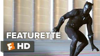 Captain America: Civil War Featurette - Black Panther (2016) - Chadwick Boseman Movie