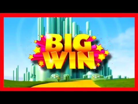 Glinda the Good Witch Slot Machine Bonus - Big Win!!!