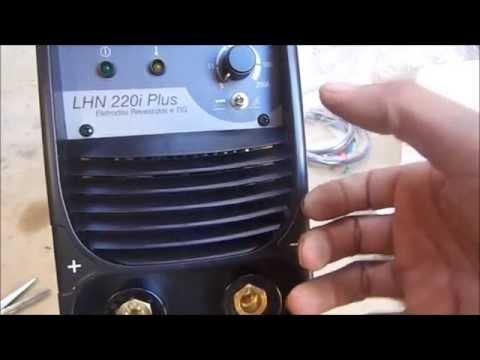 Maquina de solda inversora LHN 220 i Esab apresentação