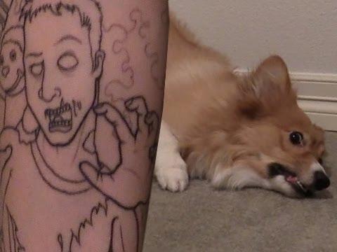 Tattoo + Ein Corgi - YouTube Uberhaxornova Tattoo