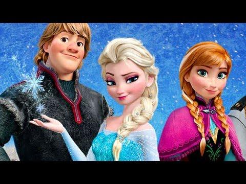Frozen Full Movie 2013 - Disney Frozen Inspired Games - English Frozen Games