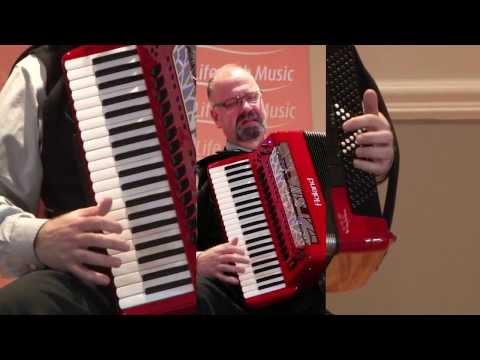 Hình ảnh trong video Roland FR-8x V-accordion. Sonidos Orquestales