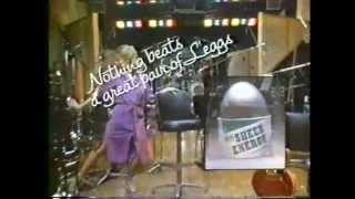 Debby Boone 1981 L'eggs Sheer Energy Pantyhose Commercial