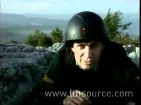 BOSNIA FIGHTING 9.7.92