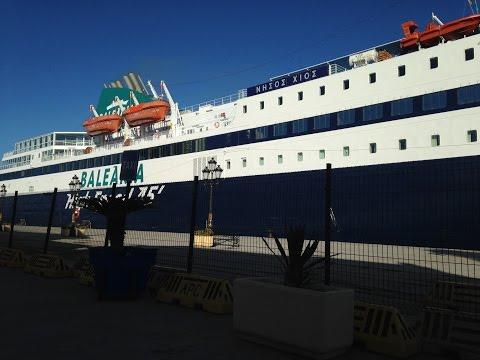 Incidente entre el práctico y Nissos Chios - Puerto de Ceuta
