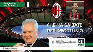 Un cappuccino con Sconcerti: Ibra è scomparso. Ma è più importante lui per il Milan o viceversa?