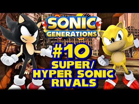 Super/Hyper Sonic Generations - (1080p) Rivals, This is my 1080p HD Super/Hyper Sonic Let's Play of Sonic Generations for the PC! In this vid we do the Rival Fights against Metal Sonic, Shadow, and Silver ...