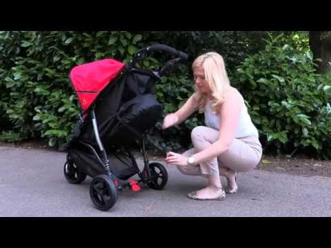 Out n About Out 'n' About Little Nipper Buggy Red