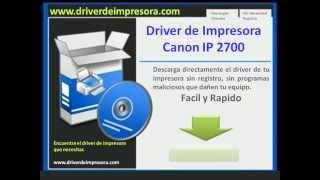 Descargar Driver De Impresora Canon Ip2700