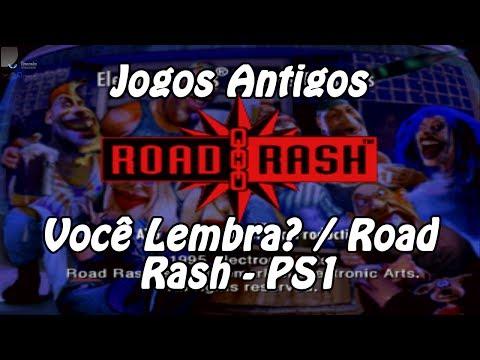 Jogos Antigos - Você Lembra? / Road Rash - PS1?