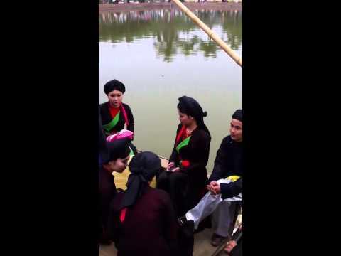 Quan họ trên thuyền Festival Bắc Ninh 2014