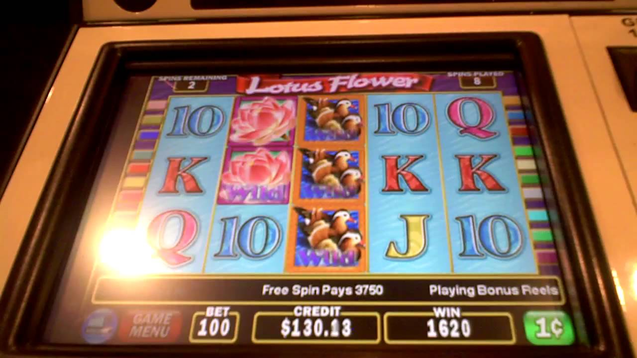 lotus flower slot machine
