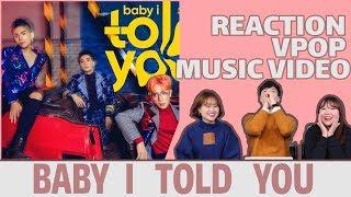 NGƯỜI HÀN XEM MV BABY I TOLD YOU CỦA MONSTAR