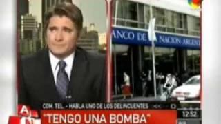 Asaltante Toma Rehenes En Argentina Y Negocia En Vivo Con