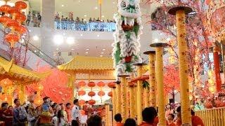 Chinese New Year Lion Dance @ Pavillion KL 2014
