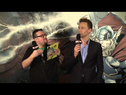 Marvel Word Association With Thor: The Dark World's Tom Hiddleston