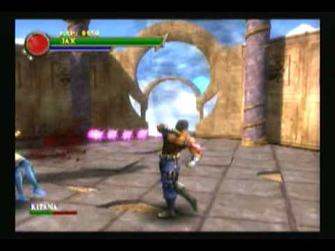 Mortal kombat shaolin monks kitana - photo#22