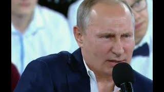 """Putin: """"I'm not made of sugar"""""""