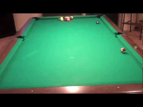 Billiard Lessons - Follow Practice Shots
