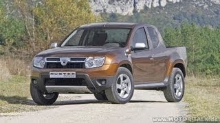 2015 Nova Renault Duster Picape Preview