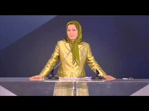 Maryam Rajavi paris2013 2