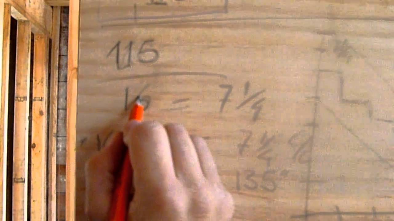 como hacer escaleras de madera 1 calculo youtube