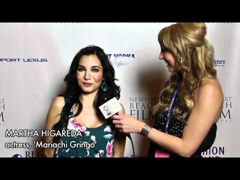 Martha Higareda Discusses 'Mariachi Gringo' with Blake V