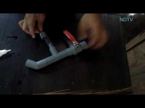 Hướng dẫn làm súng hơi từ ống PVC và chai nước ngọt