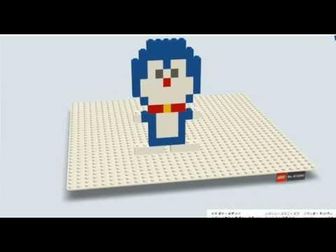 レゴ  Build with chrome - 레고 만들기 :도라에몽 (ドラえもん) lego doraemon
