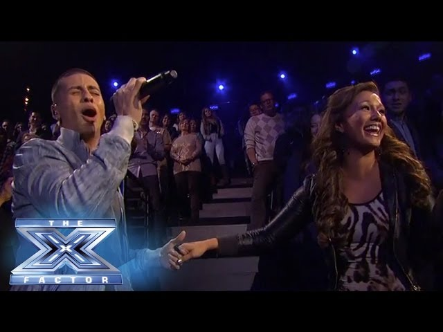 Carlito Olivero Sings For Survival - THE X FACTOR USA 2013