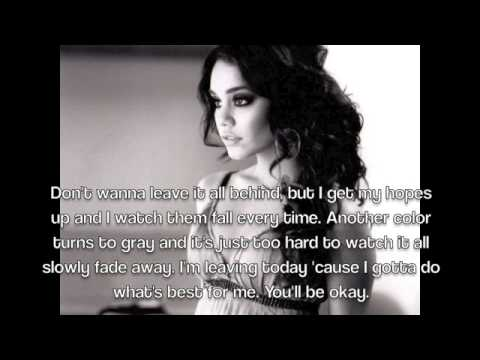 Vanessa Hudgens-Gotta Go My Own Way Lyrics