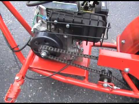 baja doodle bug minibike clutch maintanence youtube