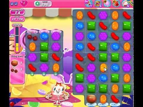 How to beat Candy Crush Saga Level 296 - 2 Stars - No Boosters - 73