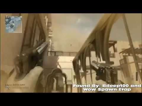 MW3 Glitches - New Amazing On Top Of Map Oasis TUTORIAL
