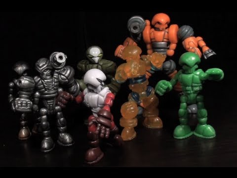 Glyos (Travellers, Phase Arms, Axis Joints) - Vangelus Review 140-A