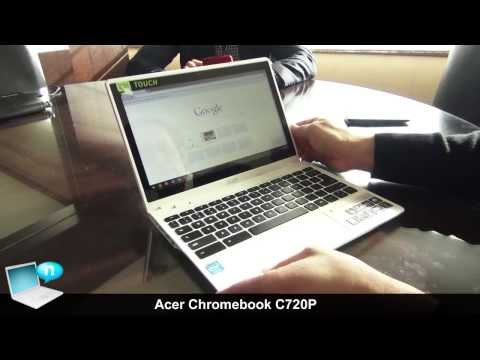Acer Chromebook C720P touch, Moonstone White