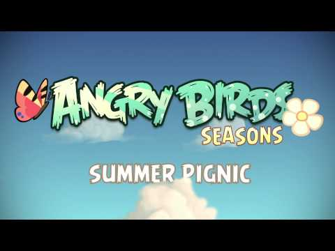 Вышла Angry Birds Seasons Summer Pignic для iOS