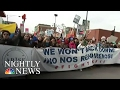 DayWithoutImmigrants: Businesses Close Across U.S. As Thousands Protest | NBC Nightly News
