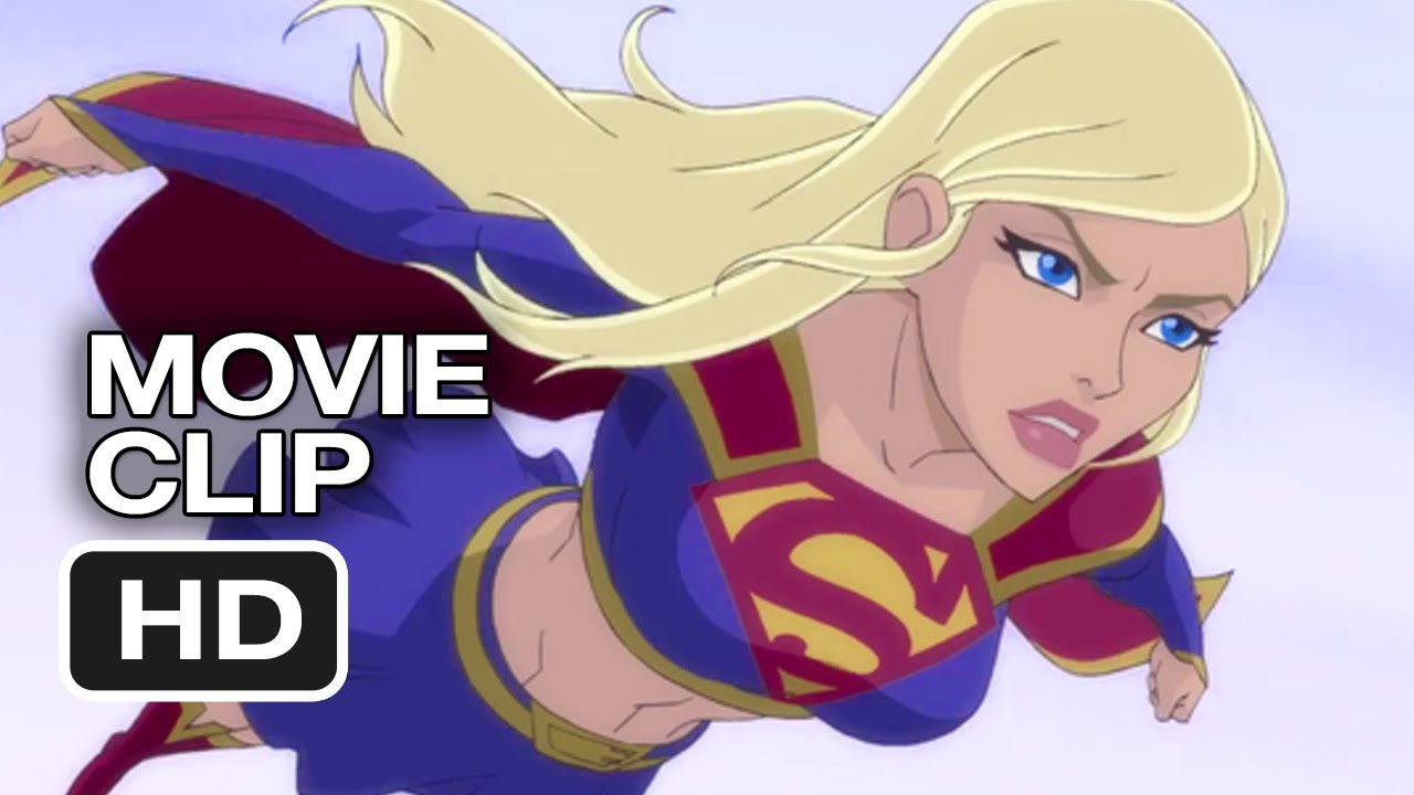 Superman: Unbound Movie CLIP - Supergirl (2013) - Superman ...