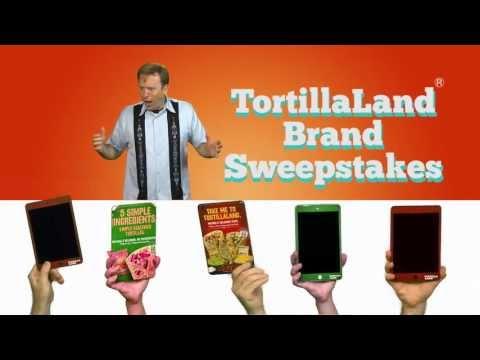Enter the tortillaland brand sweepstakes through december 15 2013