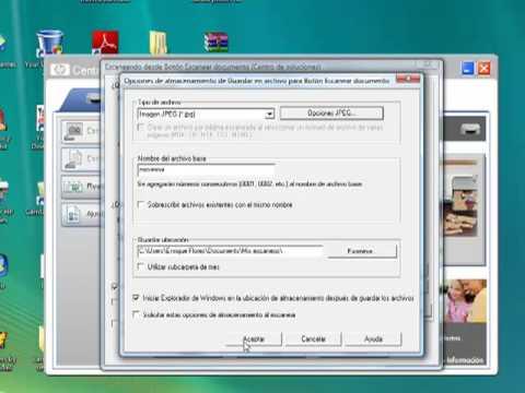 como se escanea un documento