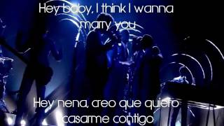 Marry you - Bruno Mars Subtitulos Ingles-Español