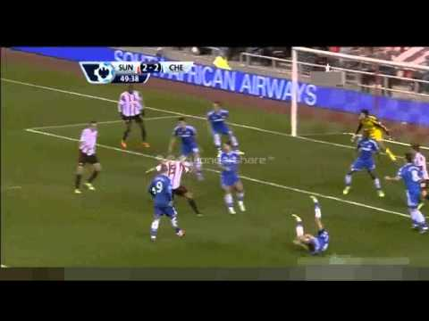 Sunderland 3 - 4 Chelsea - England - Premier League - Full Highlights - 4.12.13